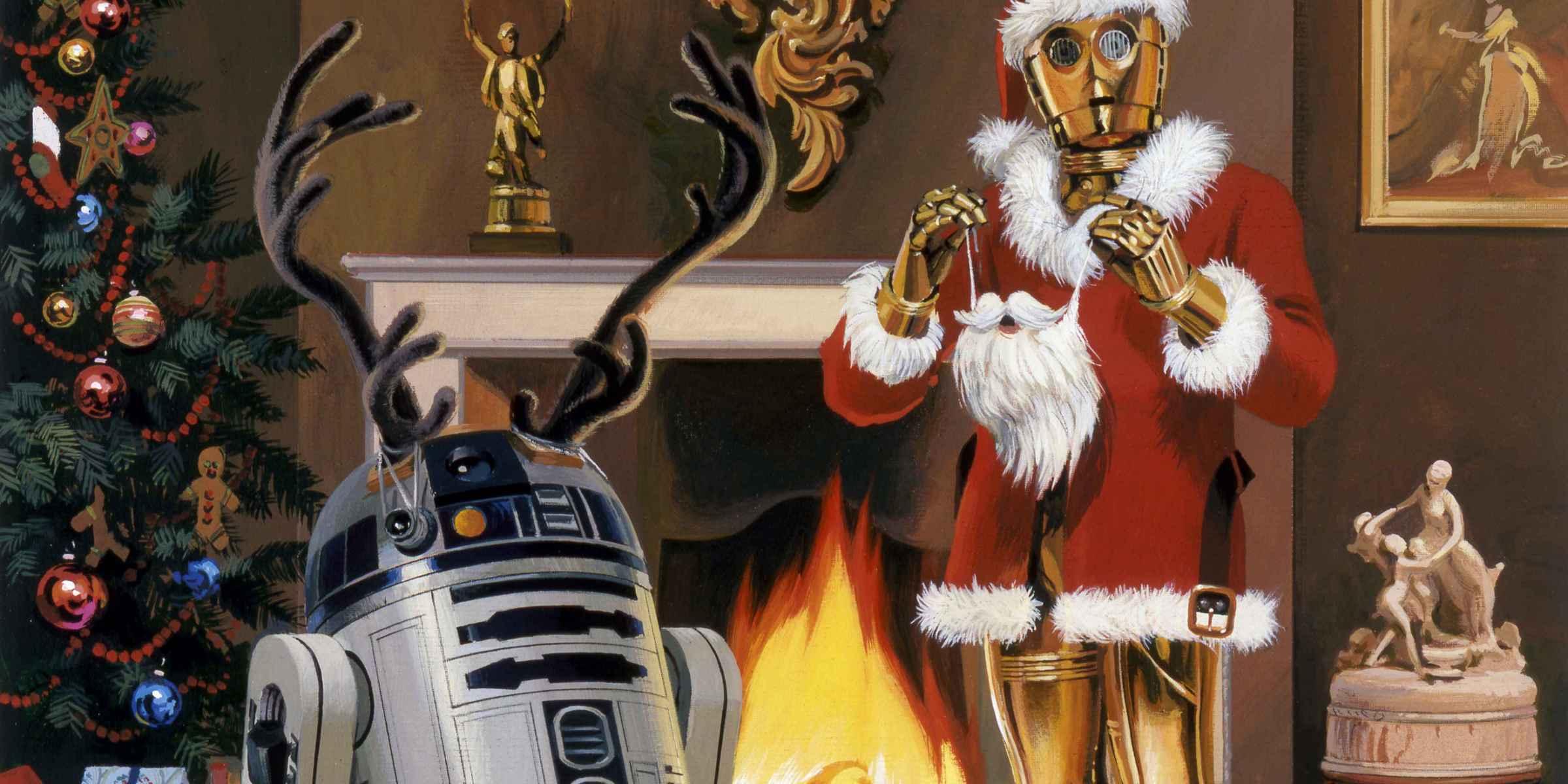 Droidokat a karácsonyfára!