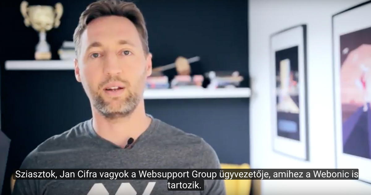 A Webonic tárhelyeit új és gyorsabb szerverrendszerre költöztetjük