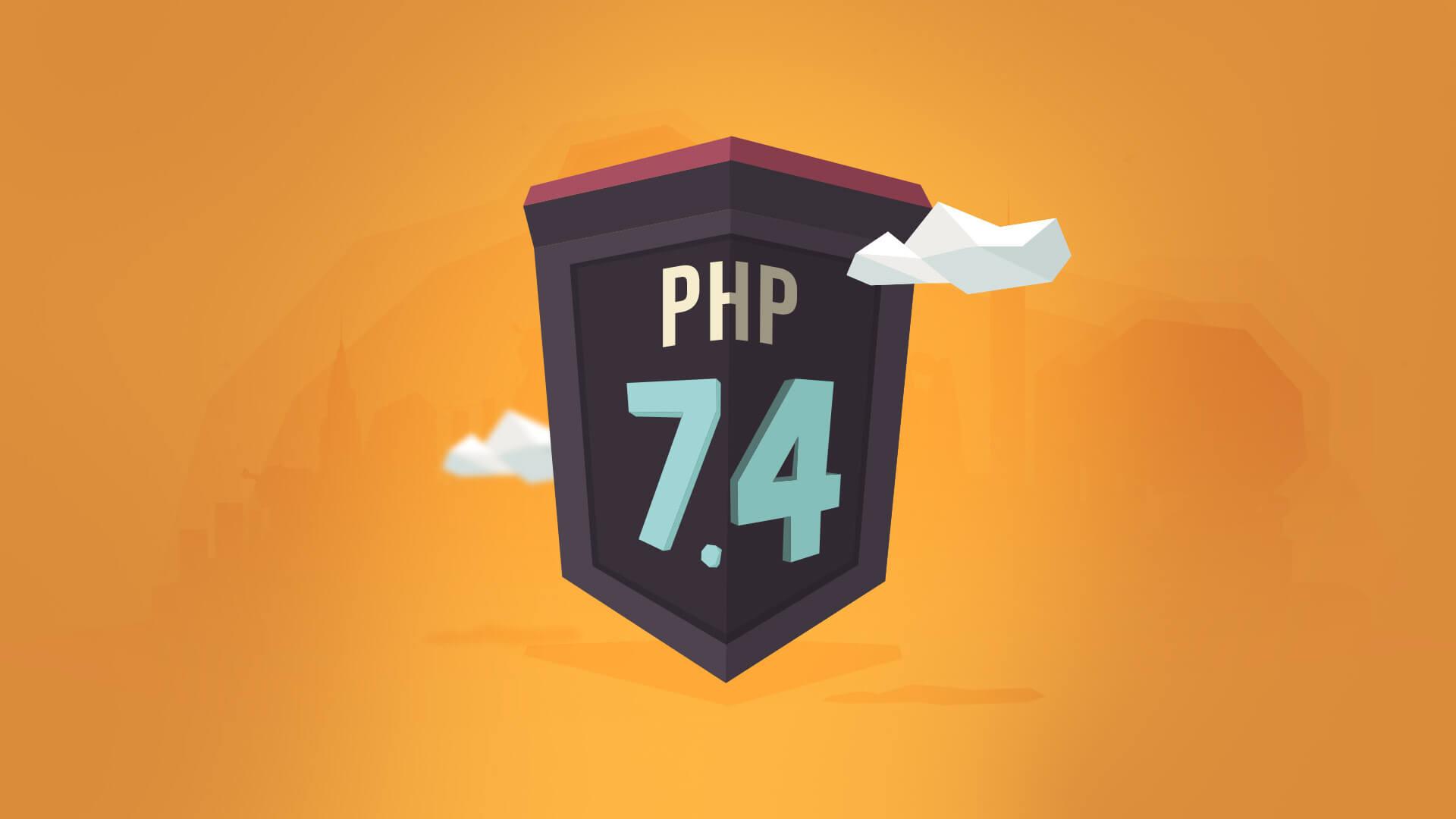 PHP 7.4 Webonic release