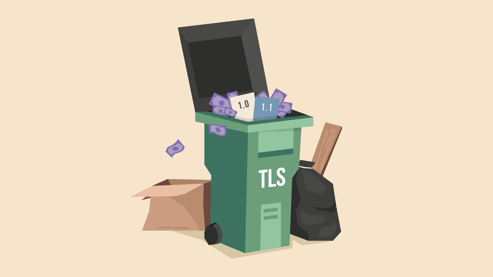 Viszlát TLS 1.0/1.1!